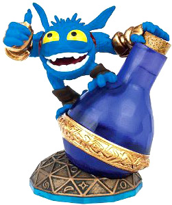 Skylanders Swap Force Loose Figure Super Gulp Pop Fizz