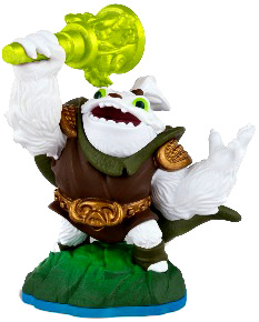 Skylanders Swap Force Loose Figure Zoo Lou