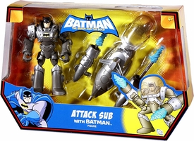 DC Batman Brave and the Bold Vehicle Attack Sub with Batman