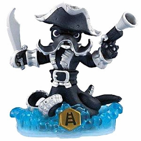 Skylanders SWAP FORCE LOOSE Swappable Figure Dark Wash Buckler
