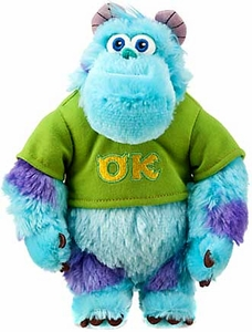 Disney / Pixar MONSTERS UNIVERSITY Exclusive 8.5 Inch Bean Bag Plush Sulley