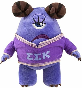 Disney / Pixar MONSTERS UNIVERSITY Exclusive 8 Inch Bean Bag Plush Violet