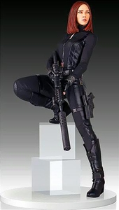 Marvel Gentle Giant 18 Inch Polystone Statue Black Widow Pre-Order ships June