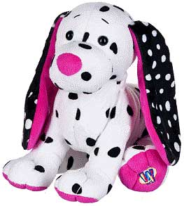 Webkinz Plush Polka-Dot Puppy