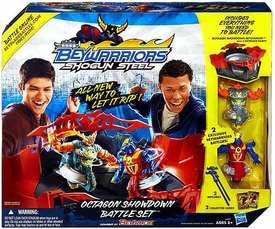 Beyblades Beywarriors Shogun Steel Octagon Showdown Battle Set