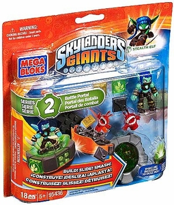 Skylanders Giants Mega Bloks Set #95436 Stealth Elf's Battle Portal