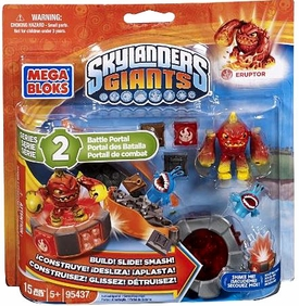 Skylanders Giants Mega Bloks Set #95437 Eruptor's Battle Portal BLOWOUT SALE!