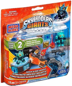 Skylanders Giants Mega Bloks Set #95438 Gill Grunt's Battle Portal