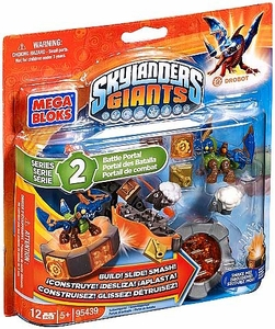 Skylanders Giants Mega Bloks Set #95439 Drobot's Battle Portal