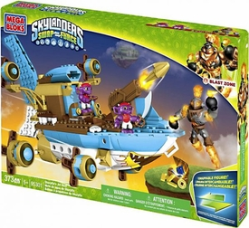 Skylanders SWAP FORCE Mega Bloks Set #95301 Sharpfin's Jet Boat