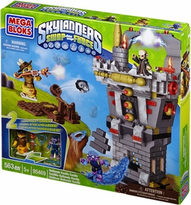 Skylanders SWAP FORCE Mega Bloks Exclusive Set #95469 Outlands Kaotic Castle
