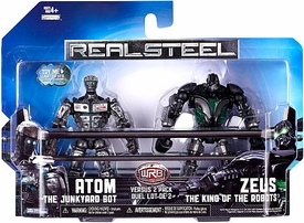 Real Steel Movie BASIC Action Figure 2-Pack Atom Vs. Zeus