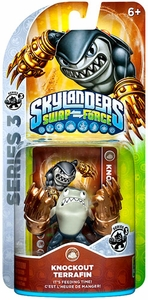 Skylanders SWAP FORCE Series 3 Figure Knockout Terrafin BLOWOUT SALE!