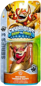 Skylanders SWAP FORCE Series 3 Figure Big Bang Trigger Happy