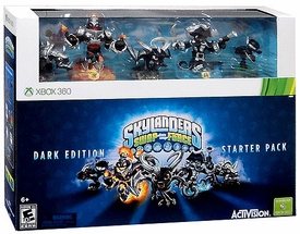 Skylanders SWAP FORCE XBox 360 Starter Pack Dark Edition