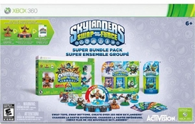 Skylanders SWAP FORCE  XBox 360 Super Bundle Pack