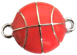 Undee Bandz Rubbzy Enamel Rubber Band Bracelet Charm Basketball BLOWOUT SALE!
