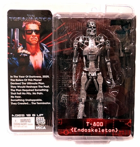NECA Terminator Series 1 Action Figure T-800 {Endoskeleton} [The Terminator]
