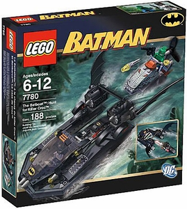 LEGO Batman Set #7780 Batboat: Hunt for Killer Croc