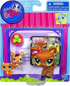 Littlest Pet Shop Figures Deer & Baby Deer