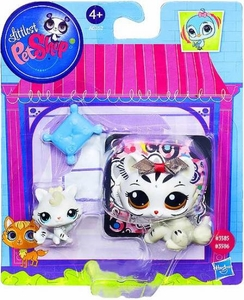 Littlest Pet Shop Figures Tiger & Baby Tiger
