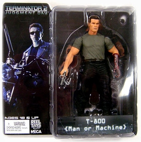 NECA Terminator 2: Judgement Day Series 1 Action Figure T-800 {Man or Machine}
