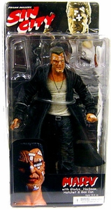 NECA Sin City Movie Series 1 Action Figure Marv (Mickey Rourke) [Color Variant]