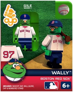 OYO Baseball MLB Building Brick Minifigure Wally [Boston Red Sox Mascot]