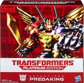 Hasbro Transformers Exclusive Platinum Edition Action Figure Predaking