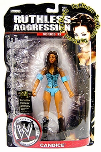 WWE Wrestling Ruthless Aggression Series 33 Action Figure Candice Michelle
