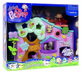Littlest Pet Shop Figures Playset Pets Only Clubhouse [With 4 Exclusive Pets!]