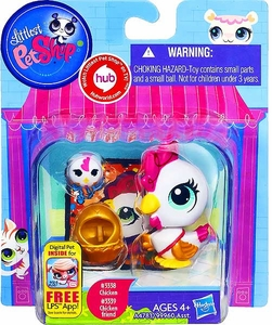 Littlest Pet Shop Totally Talented Pets Chicken & Chicken Friend