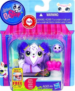 Littlest Pet Shop Totally Talented Pets Maltese & Maltese Friend