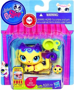 Littlest Pet Shop Totally Talented Pets Cat & Mini Cat