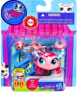 Littlest Pet Shop Totally Talented Pets Crab & Crab Friend
