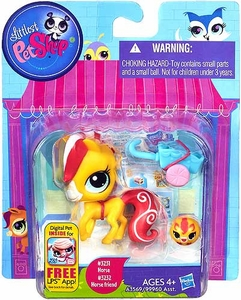 Littlest Pet Shop Figure 2-Pack Horse & Horse Friend