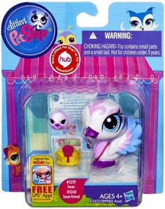 Littlest Pet Shop Figure 2-Pack Swan & Swan Friend