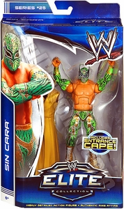 Mattel WWE Wrestling Elite Series 25 Action Figure Sin Cara [Entrance Cape!]