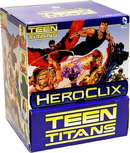 Teen Titans Heroclix Gravity Feed Booster BOX [24 Packs]