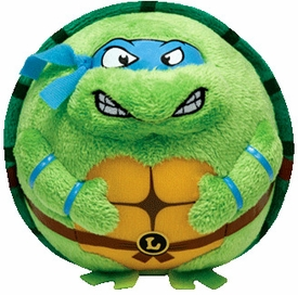 Nickelodeon Teenage Mutant Ninja Turtles Ty Beanie Ballz Leonardo Pre-Order ships April