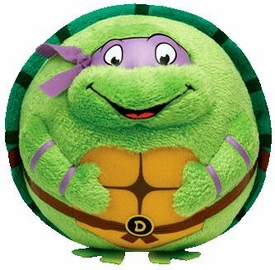 Nickelodeon Teenage Mutant Ninja Turtles Ty Beanie Ballz Donatello Pre-Order ships July