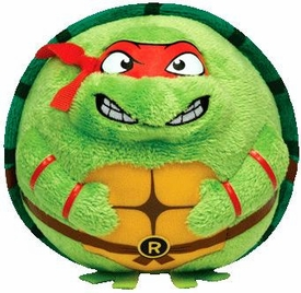 Nickelodeon Teenage Mutant Ninja Turtles Ty Beanie Ballz Raphael Pre-Order ships July