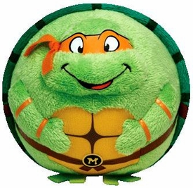 Nickelodeon Teenage Mutant Ninja Turtles Ty Beanie Ballz Michelangelo Pre-Order ships April