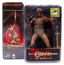 NECA Conan The Barabarian 2008 SDCC San Diego Comic-Con Exclusive Action Figure Conan with Bronze Finish