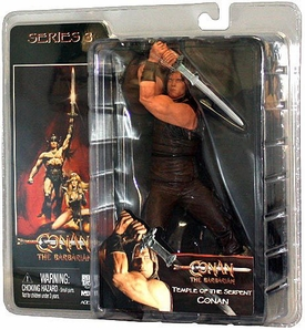 NECA Conan the Barbarian Action Figure Temple of the Serpent Conan