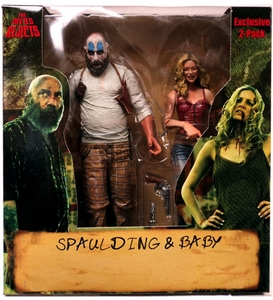 NECA Devil's RejectsExclusive Action Figure 2-Pack Spaulding & Baby