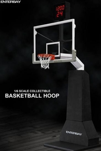 Enterbay 1/6 Scale Collectible Basketball Hoop & Shot Clock Pre-Order ships April