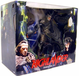 NECA Highlander Action Figure 2-Pack Deluxe Boxed Set Medieval [McLeod & Kurgan]