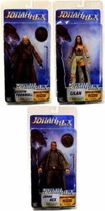 NECA Jonah Hex Series 1 Set of 3 Action Figures [Jonah Hex, Lilah Hex & Quentin Turnbull]