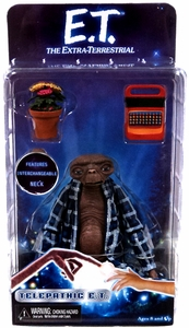 NECA E.T. 30th Anniversary Series 2 Action Figure Telepathic ET [Bathrobe]